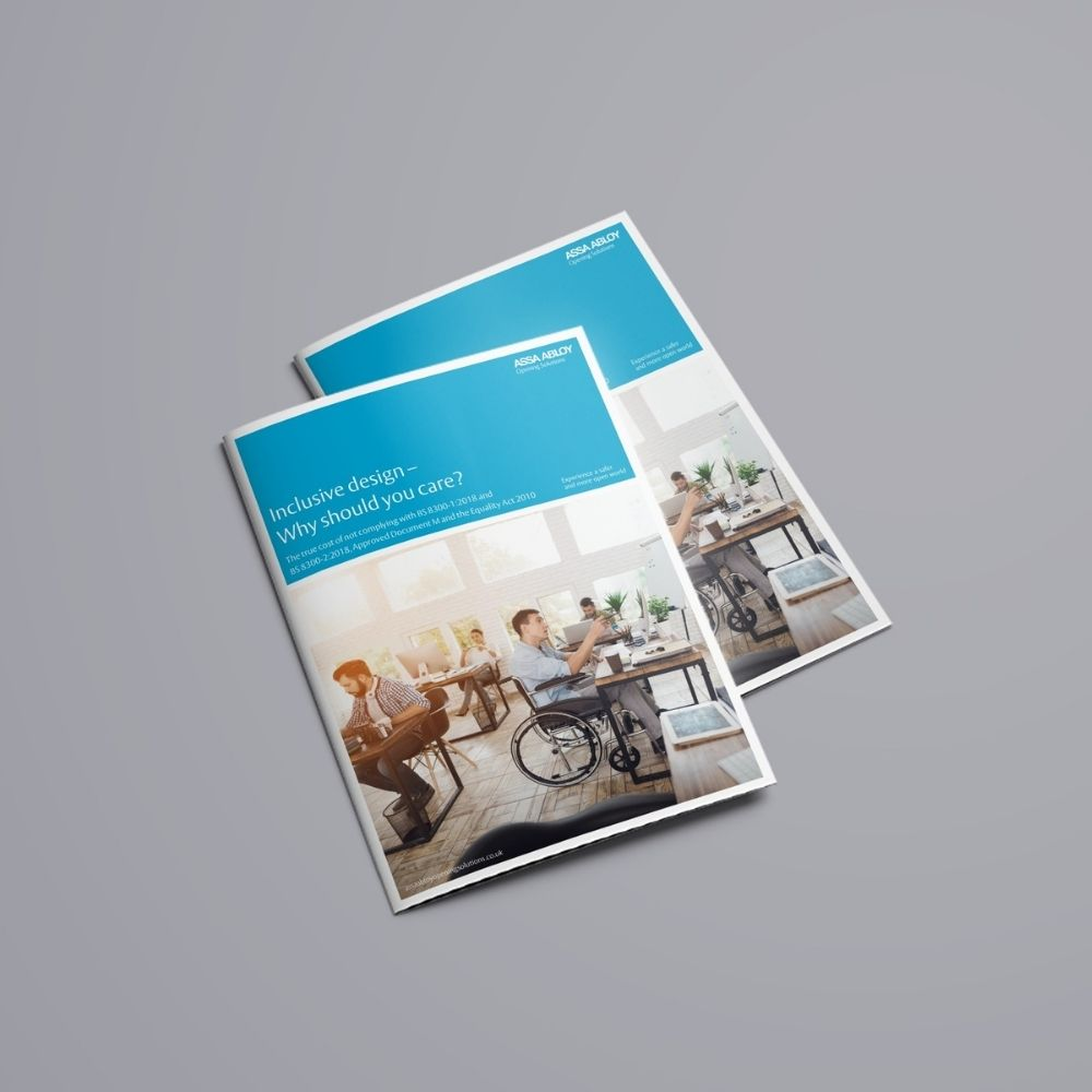 thumbnail image of the ASSA ABLOY Door hardware group inclusive design whitepaper
