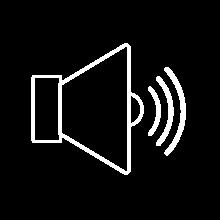 Audio content icon